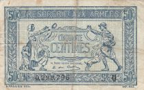 France 50 Centimes Woman and soldier -  1919 U 0.290.796
