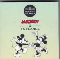 France 50 Euros Mickey - 2018 - Silver - National day