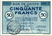 France 50 F , Colmar Chambre de Commerce, série A