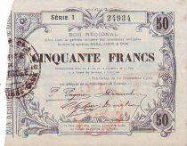France 50 F Fourmies