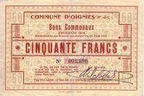 France 50 F Oignies