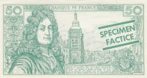 France 50 F Racine (green) - 05/11/1964