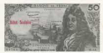 France 50 F Racine (vert et rouge) - 01/01/1962