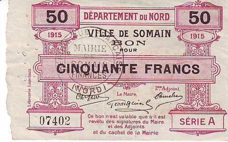 France 50 F Somain