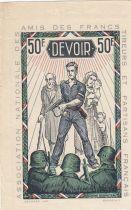 France 50 Francs - Francs Tireurs et Partisans Français - 1945