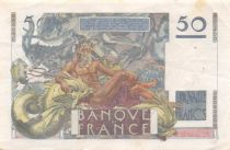 France 50 Francs - Le Verrier 02-03-1950 - Série D.145 - TTB