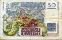 France 50 Francs - Le Verrier 03-11-1949 - Serial Q.144 - VF