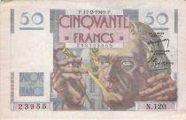 France 50 Francs - Le Verrier 17-02-1949 - Série N.120 - TTB+