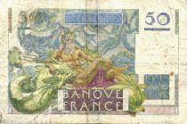 France 50 Francs - Le Verrier 17-02-1949 - Série P.115 - TB