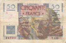 France 50 Francs - Le Verrier 17-02-1949 - Série T.125 - TB+