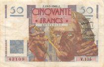 France 50 Francs - Le Verrier 19-05-1949 - Série V.135 - TTB