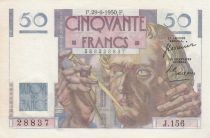 France 50 Francs - Le Verrier 29-06-1950 - Série J.156