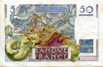 France 50 Francs - Le Verrier 29-06-1950 - Série L.153 - TTB