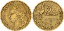 France 50 Francs  Guiraud - 1951 B