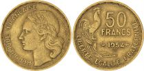 France 50 Francs  Guiraud - 1954 B