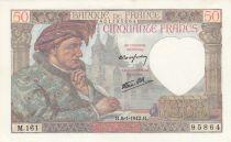 France 50 Francs 08-01-1942 - P.93 - aUNC