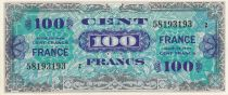 France 50 Francs Allied Military Currency - Flag - 1944 - Serial 2