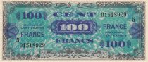 France 50 Francs Allied Military Currency - Flag - 1944 - Serial 5