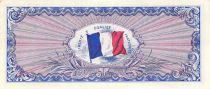 France 50 Francs Allied Military Currency (Flag) - 1944 No Serial - XF+