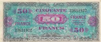 France 50 Francs American printing - 1944 - without serial - 23651922