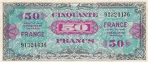 France 50 Francs American printing - 1944 - without serial - 91324436