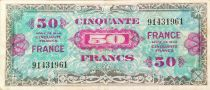 France 50 Francs American printing - 1944 - without serial - F