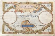 France 50 Francs Angels - Mercury - 10-08-1933 Série L.14224 - VF