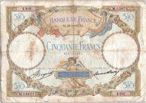 France 50 Francs Angels - Mercury - 20-07-1933 Série M.13871