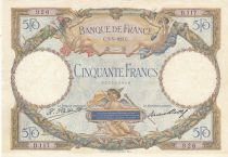 France 50 Francs Angels, Mercury -  05-03-1927  Serial D.117