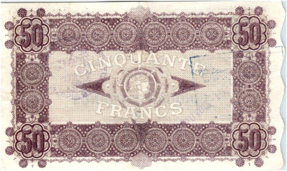 France 50 Francs Avesnes Et Solesmes Beauvois-en-Cambrésis