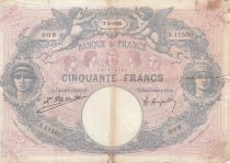 France 50 Francs Bleu et Rose - 07-02-1925 Série A.11560