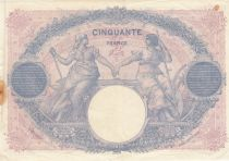 France 50 Francs Bleu et Rose - 1919 Série R.8618