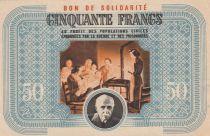 France 50 Francs Bon de Solidarité - 1941-1942