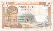 France 50 Francs Cérès - 13-04-1939 Série R.10169 - TTB