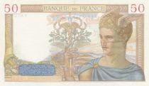 France 50 Francs Cérès - 13-05-1937 - Série Y.6137 - SUP