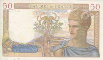 France 50 Francs Cérès - 21/12/1939 - Série A. 11737