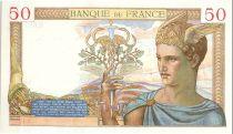 France 50 Francs Cérès - 26-08-1937 Série B.6819