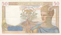 France 50 Francs Cérès - 29-08-1935 - Série o.2806 - TTB