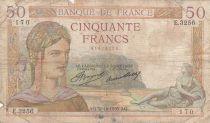 France 50 Francs Cérès - 31-10-1935 - Série E.3256