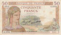 France 50 Francs Cérès - G.3701 - 1935