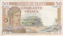 France 50 Francs Cérès -27-05-1937- Série C.8367