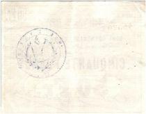 France 50 Francs Douai Commune - 1914