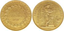 France 50 Francs Gold Genius - 1878 A Paris