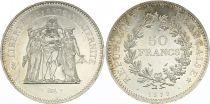 France 50 Francs Hercules - 1979 Silver