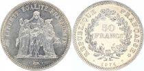 France 50 Francs Hercules obverse of 20 Francs - 1974