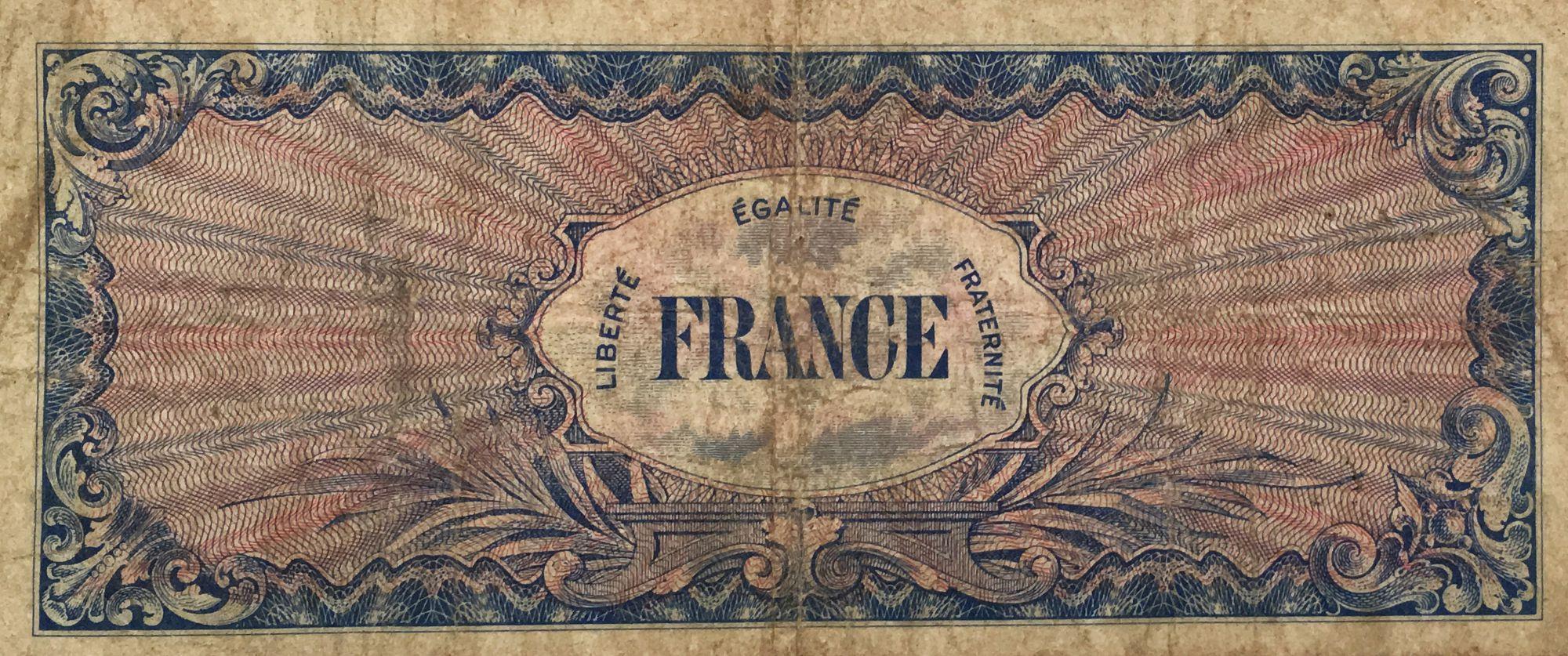France 50 Francs Impr. américaine - 1944 - Sans série - PTB