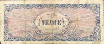 France 50 Francs Impr. américaine (drapeau) - 1944 - Sans série - TB