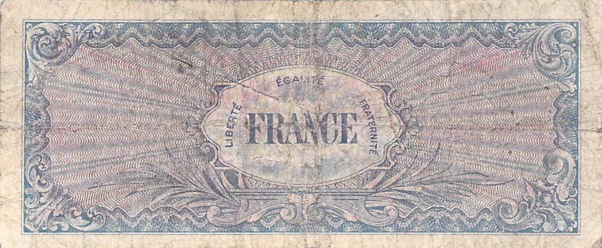 France 50 Francs Impr. américaine (France) - 1945 Série 2 - TB