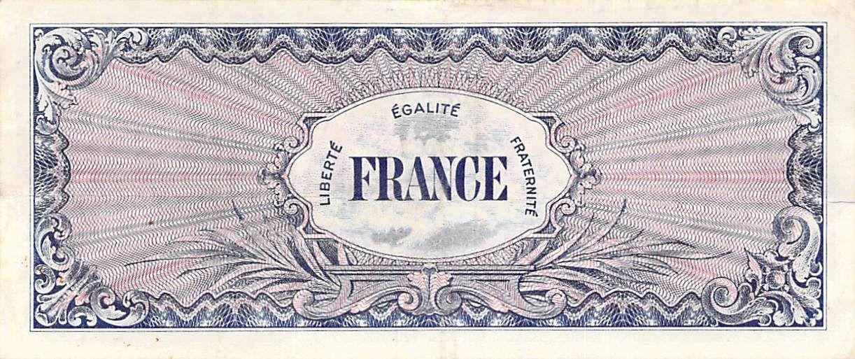 France 50 Francs Impr. américaine (France) - 1945 Série 2 - TTB+