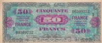 France 50 Francs Impr. américaine (France) - 1945 Série X 00509752